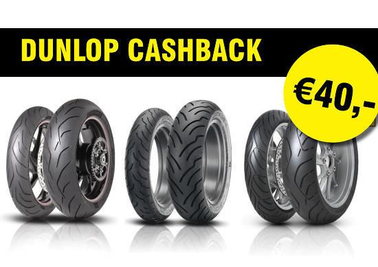 DUNLOP CASHBACK! €40,-