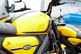 YAMAHA XSR125 impact yellow_