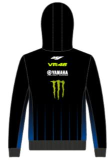 Yamaha V46 heren hoody - black line