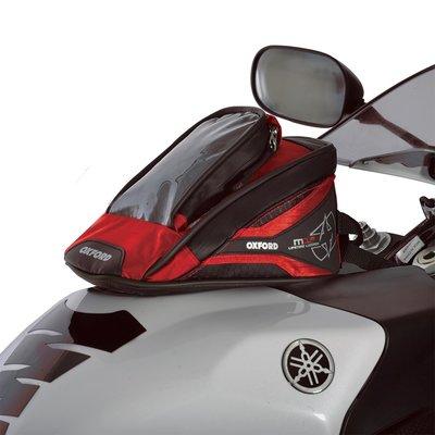 Oxford Tanktas Micro met magneten model M1R rood