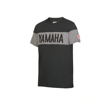 Yamaha Faster Sons heren shirt - model Lubbock grijs