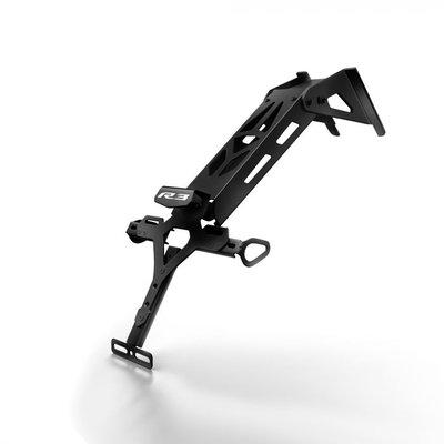Yamaha YZF-R3  Kentekenplaathouder Black