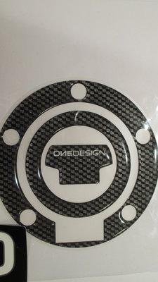 Yamaha YZF carbonlook tankdop sticker