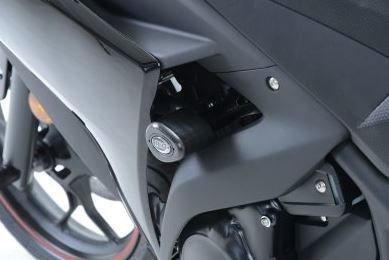 R&G Aero Race beschermblokken zwarte uitvoering Yamaha