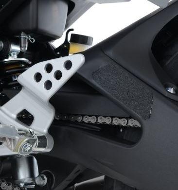 R&G beschermingsset voor het onderframe, zwart, 2-delig Yamaha YZF-R125