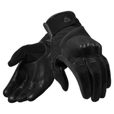 Revit motorhandschoenen Mosca zwart (dames)