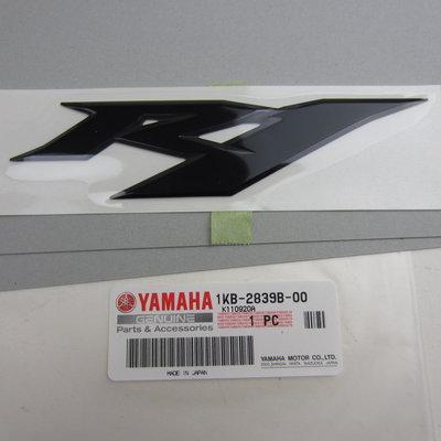 Yamaha YZF R1 3D R1 Embleem MNM3