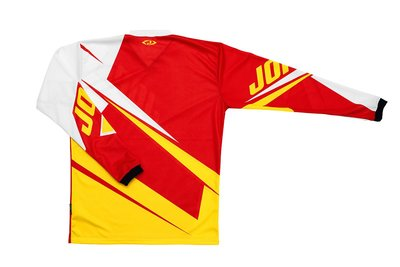 Jopa MX-Jersey 2020 Dust-off Red-Yellow