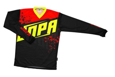 Jopa MX-Jersey 2020 Charge Neon Yellow-Red