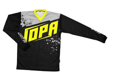 Jopa MX-Jersey 2020 Charge Neon Yellow-Grey