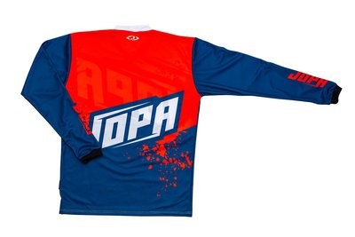 Jopa MX-Jersey 2020 Charge Navy-Warm Red