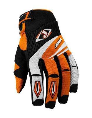 Jopa MX-4 cross handschoenen Zwart/Oranje