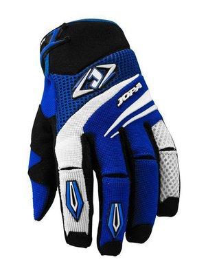 Jopa MX-4 cross handschoenen Zwart/Blauw