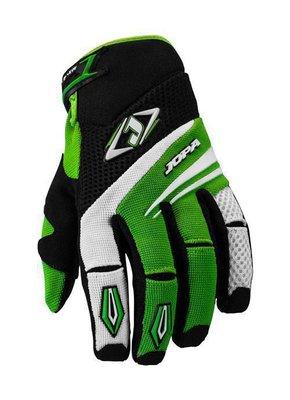 Jopa MX-4 cross handschoenen Zwart/Groen