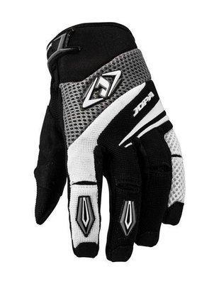 Jopa MX-4 cross handschoenen Grijs/Wit