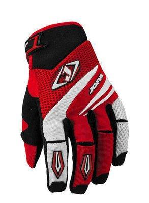 Jopa MX-4 cross handschoenen Rood