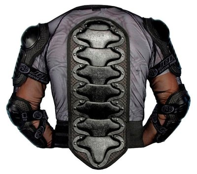 Jopa Bodyprotectorvest + kidney belt Black