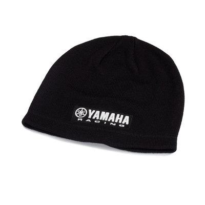 Yamaha Paddock Blue zwarte beanie