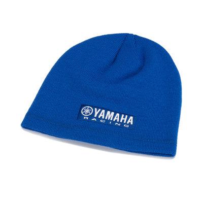 Yamaha Paddock Blue blauwe beanie