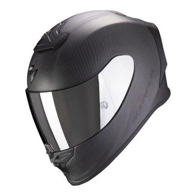 Scorpion EXO-R1 CARBON AIR Solid integraalhelm mat zwart