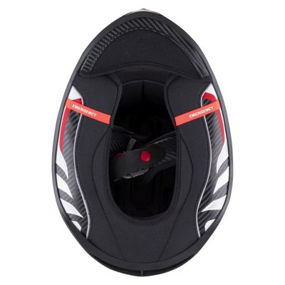 Scorpion EXO-R1 CARBON AIR Solid integraalhelm zwart