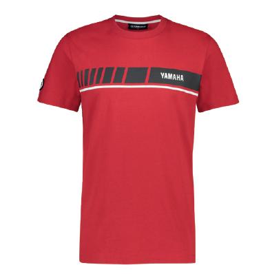 YAMAHA REVS heren t-shirt rood