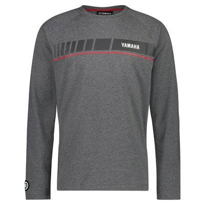 YAMAHA REVS heren Long Sleeve T-shirt grijs