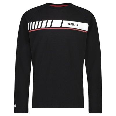 YAMAHA REVS heren Long Sleeve T-shirt zwart