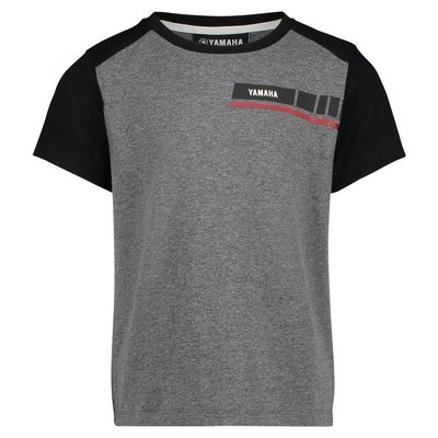 YAMAHA REVS kinder t-shirt grijs