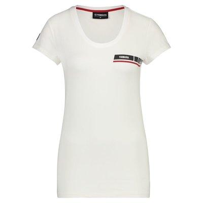 YAMAHA REVS dames t-shirt wit
