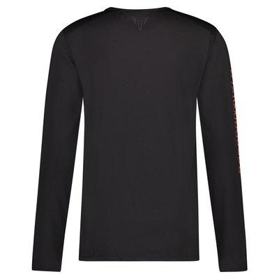 Yamaha MT heren t-shirt met lange mouwen Boise (zwart)