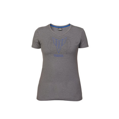 Yamaha MT dames t-shirt Carson (grijs)