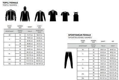 Yamaha MT dames t-shirt Carson (zwart)