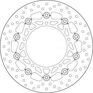 BREMBO REMSCHIJF BRAKE DISC, 78B40831