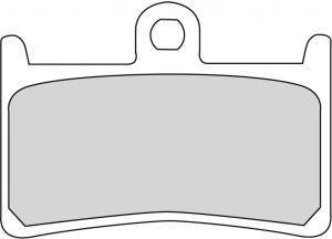 FERODO REMBLOK FDB605P BRAKE PADS ORGANIC