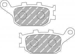 FERODO REMBLOK FDB754P BRAKE PADS ORGANIC