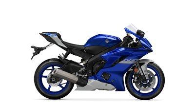 YAMAHA YZF-R6 Blauw