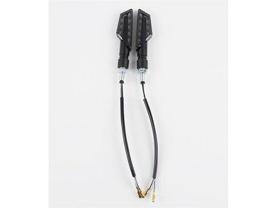 LIGHTECH Knipperlichten Led ABS Plastic Zwart