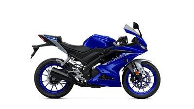 YAMAHA YZF-R125 Icon Blue