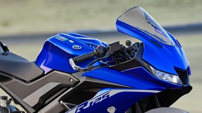 YAMAHA YZF-R125 Icon Blue