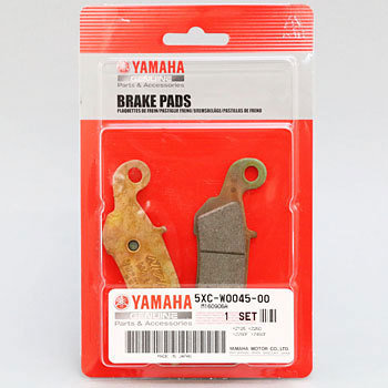 YAMAHA YZ BRAKE PAD KIT 5XC-W0045-00-00
