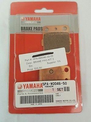 YAMAHA YZ BRAKE PAD KIT 2 5PA-W0046-50-00