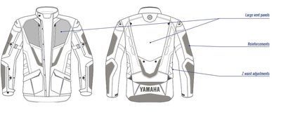 Yamaha Adventure heren jas