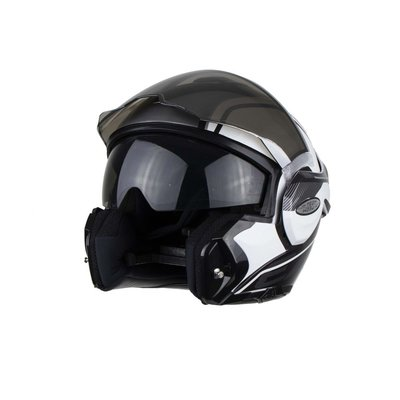 Scorpion Systeemhelm EXO-Tech Time Off wit