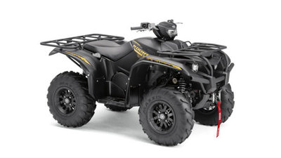 YAMAHA KODIAK 700 EPS SE Satin Black