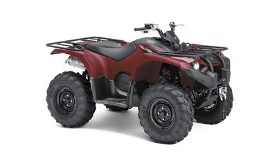 YAMAHA KODIAK 450 Ridge Red