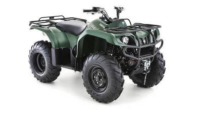 YAMAHA GRIZZLY 350 4WD Green