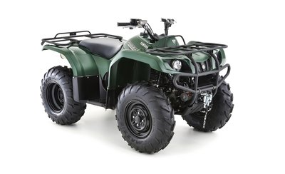 YAMAHA GRIZZLY 350 2WD Green