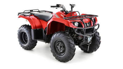 YAMAHA GRIZZLY 350 2WD Red