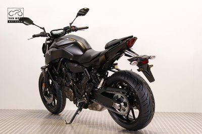 YAMAHA MT-07 35 KW Tech Black huurmotor